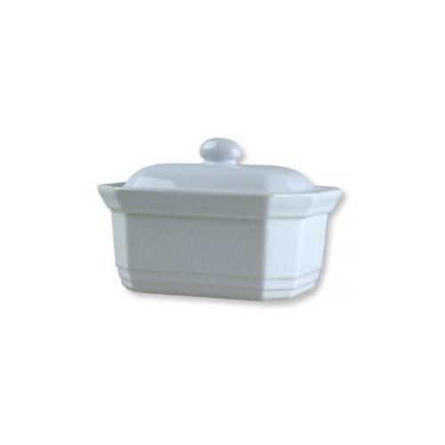 Terrine vide en porcelaine blanche petit modèle - Les Bouriettes
