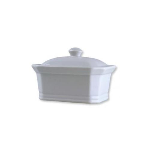 Terrine vide en porcelaine blanche grand modèle