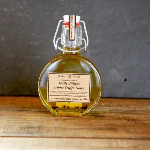 Huile d'olive arôme truffe noire