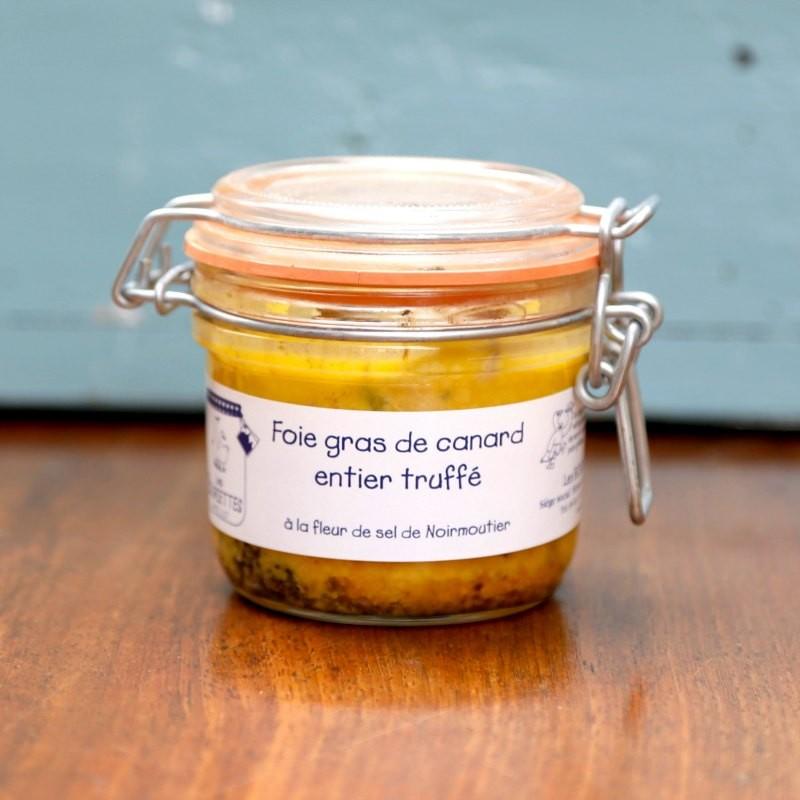 Foie gras de canard entier truffé 180g