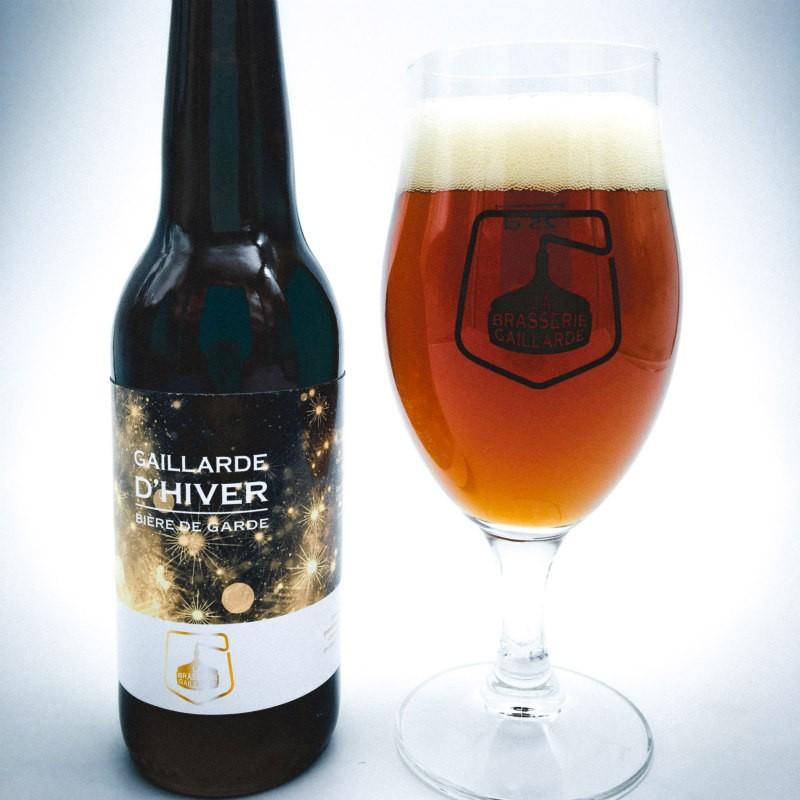 Bière de Noel La gaillarde