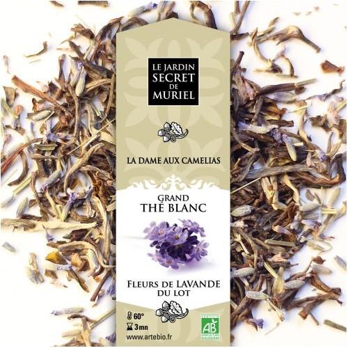 Grand Thé blanc aux fleurs de lavande du Lot