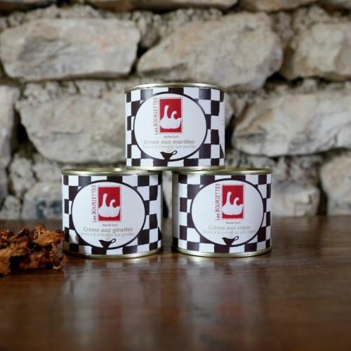 La Collection des 3 crèmes aux champignons