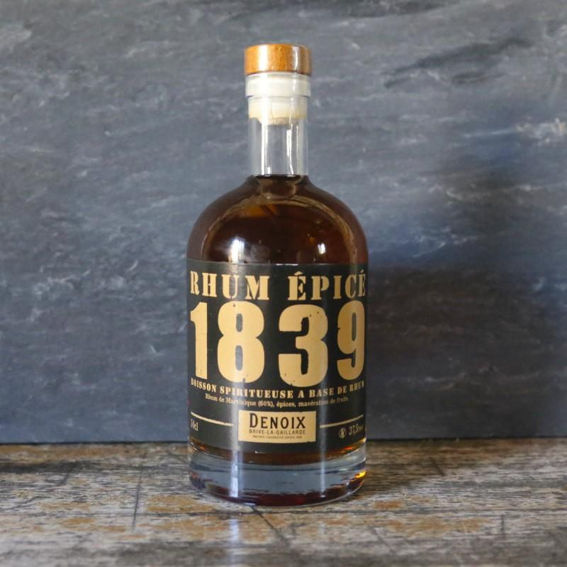 Rhum épicé 1839 Denoix